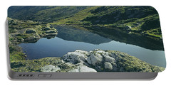Portable Battery Charger featuring the photograph 135708 Lake Of The Clouds Nh by Ed Cooper Photography