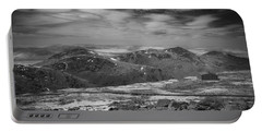 Portable Battery Charger featuring the photograph 135764 Presidential Range Nh Infrared by Ed Cooper Photography