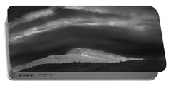 Portable Battery Charger featuring the photograph 135765 Mt. Washington Lenticular Cloud Nh by Ed Cooper Photography