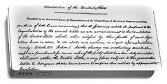 13th Amendment, 1865 Portable Battery Charger