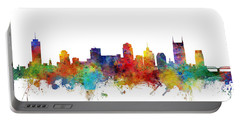 Nashville Tennessee Skyline Portable Battery Charger