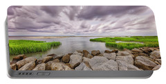 Seascape Of Hilton Head Island Portable Battery Charger