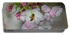 Silicon Valley Cherry Blossoms Portable Battery Charger by Glenn Franco Simmons
