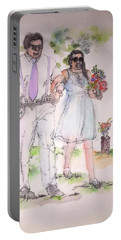 The Wedding Album  Portable Battery Charger by Debbi Saccomanno Chan