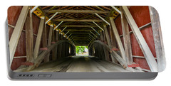 143 Feet Of Covered Bridge Portable Battery Charger