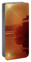 Portable Battery Charger featuring the photograph 148223 Mississippi River Sternwheeler  Ga by Ed Cooper Photography