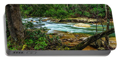 Portable Battery Charger featuring the photograph Back Fork Of Elk River by Thomas R Fletcher