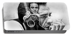 Johnny Cash Collection Portable Battery Charger