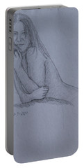 Nude Study Portable Battery Charger
