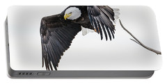 Portable Battery Charger featuring the photograph Bald Eagle by Norman Hall