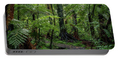Portable Battery Charger featuring the photograph Forest Boardwalk by Les Cunliffe