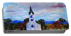 #17 St. Johns Historic Church On Hwy 69 Portable Battery Charger