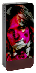Portable Battery Charger featuring the mixed media Tom Petty Collection by Marvin Blaine