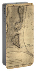 1765 Florida Coast Map Portable Battery Charger