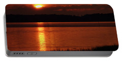 17th Street Sunset Portable Battery Charger by Greg Graham