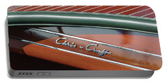 Classic Chris Craft Portable Battery Charger