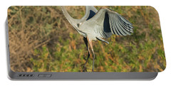 Portable Battery Charger featuring the photograph Great Blue Heron by Tam Ryan
