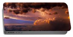 Nebraska Hp Supercell Sunset Portable Battery Charger