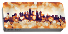 Philadelphia Pennsylvania Skyline Portable Battery Charger