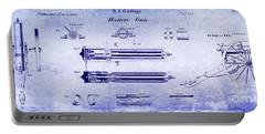 1865 Gatling Gun Blueprint Portable Battery Charger