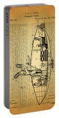 1884 Submarine Ship Patent Portable Battery Charger by Dan Sproul