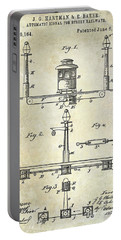 1893 Street Railway Signal Patent Portable Battery Charger