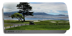 18th At Pebble Beach Horizontal Portable Battery Charger