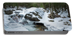 19 Mile Brook In Winter Portable Battery Charger