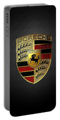 Porsche Logo Portable Battery Charger