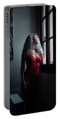 Portable Battery Charger featuring the photograph Tu M'as Promis by Traven Milovich