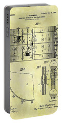 1900 Band Drum Patent Portable Battery Charger by Dan Sproul
