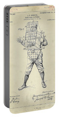 1904 Baseball Catcher Patent Portable Battery Charger