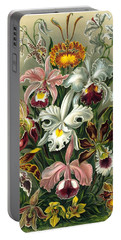1904 Orchids Art Forms Of Nature Print Portable Battery Charger