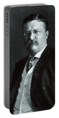 1904 President Theodore Roosevelt Portable Battery Charger by Historic Image
