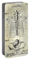 1911 Anatomical Skeleton Patent  Portable Battery Charger