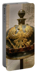 1915 Prussian Artillery Spiked Pickelhaube Helmut Portable Battery Charger