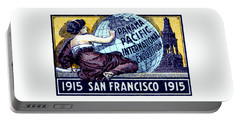1915 San Francisco Expo Poster Portable Battery Charger by Historic Image