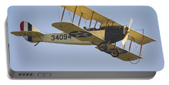 1917 Curtiss Jn-4d Jenny Flying Canvas Photo Poster Print Portable Battery Charger