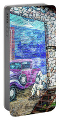 1920's Jazz Era Mural #6 Portable Battery Charger