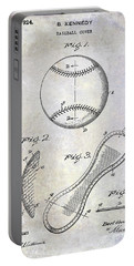 1924 Baseball Patent Portable Battery Charger