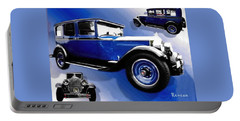 Portable Battery Charger featuring the photograph 1927 Packard 526 Sedan by Sadie Reneau