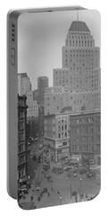 1929 Summer Street In Dock Square Boston Portable Battery Charger by Historic Image