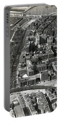 1930 Along Charles Street, Boston Portable Battery Charger by Historic Image