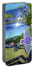 1930 Chevrolet Ad Hood Ornament Portable Battery Charger