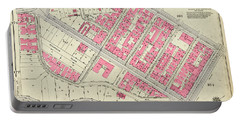 1930 Inwood Map  Portable Battery Charger