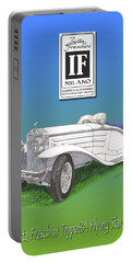 1930 Isotta Fraschini Tippo 8 A Flying Star Roadster Portable Battery Charger by Jack Pumphrey