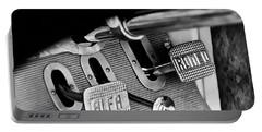 1931 Alfa Romeo 6c 1750 Gran Sport Aprile Spider Corsa Pedals -3689bw Portable Battery Charger