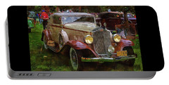 1932 Packard 900 Portable Battery Charger by Thom Zehrfeld