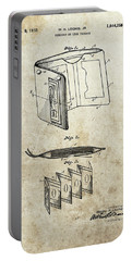 1932 Wallet Patent Portable Battery Charger