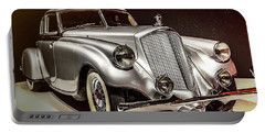 1933 Pierce-arrow Silver Arrow Portable Battery Charger by Wade Brooks